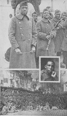 African Americans and World War I Military Units, Military Service, Military History, Native American History, African American History, Brothers In Arms, Cotton Club, Black History Facts, Harlem Renaissance