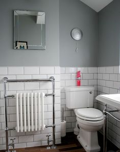 Want to refresh your small bathroom decor? Here are Cute and Best Half Bathroom Ideas That Will Impress Your Guests And Upgrade Your House. Budget Bathroom, Bathroom Renovations, Master Bathroom, Bathroom Blinds, Mosaic Bathroom, House Renovations, Bathroom Subway Tiles, Bathroom Ideas Uk, Bathroom Makeovers On A Budget