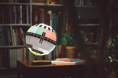 Mono Lamp - A design lamp inspired by TV test cards. on Behance