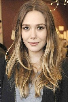 Image result for elizabeth olsen hair