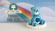 Care Bears: How to make a fondant Care Bear model cake topper blue grump...