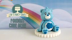 Fondant care bear cake model. In this cake decorating tutorial I show you how to make a little Care Bear model to use as a cake topper. The Care Bear model I...