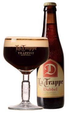 La Trappe - Dubbel. Wisseltap voor de maand oktober!