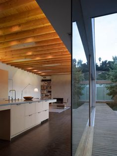 Sustainable Clad House Blended with Surroundings - Hidden House by Standard