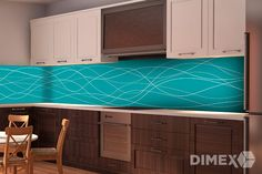 Fototapeta do kuchyne   DIMEX Kitchen Cabinets, Home Decor, Decoration Home, Room Decor, Cabinets, Home Interior Design, Dressers, Home Decoration, Kitchen Cupboards