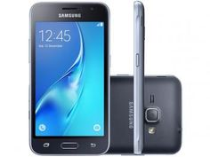 Smartphone Samsung Galaxy J1 2016 8GB Dual Chip 3G - Câm 5MP+Selfie Tela 4.5Pol Super AMOLED Quad-Core