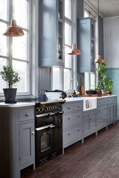 Platsbyggt kök utan att platsbygga – ja det funkar med denna lösningen! | Sköna hem
