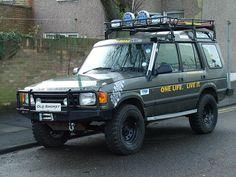 Old Smokey | 'Old Smokey' 1996 Land Rover Discovery Tdi | kenjonbro | Flickr