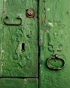 #green #door