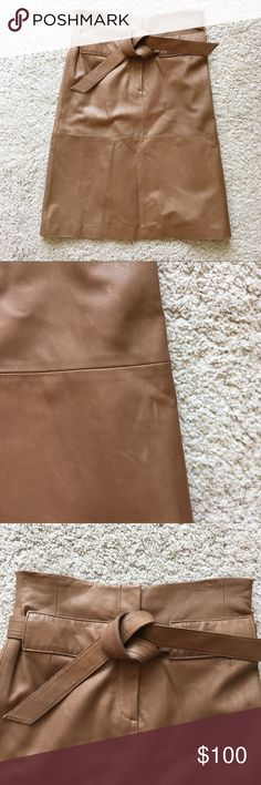 06bc76c9a7 Worth genuine leather high waisted pencil skirt Such a cute piece! 100%  genuine leather