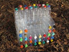 chair from plastic bottles