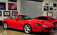1997 Ferrari 550 Maranello - red - fvr
