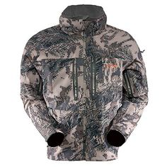 CLOUDBURST JACKET The Cloudburst Jacket is our fully featured waterproof shell that left not detail spared in its brilliant design. Technology: Double water repellent finish, Fabric Details: 20 Denier stretch woven nylon. Men's sizes S, M, L, XL, XXL, XXXL in Open Country Camo.