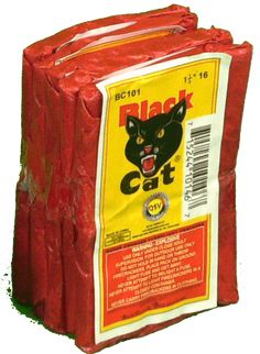Black Cat fire crackers