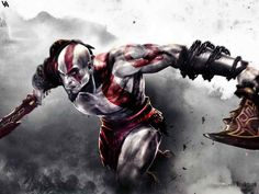 Trailer for God of War, starring . Here's the God of War gameplay trailer, which premiered at Kratos God Of War, Gaming Wallpapers Hd, Hd Desktop, Iphone Wallpapers, Ps4, Playstation, Xbox Pc, Santa Monica, God Of War