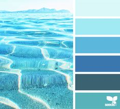 today's inspiration image for { summer sea } is by . thank you, Maria, for another amazing image share! Blue Palette, Colour Pallette, Colour Schemes, Color Combos, Sea Colour, Colour Field, Design Seeds, Green Design, Design Design