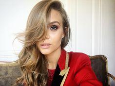 all things josephine skriver Brown Blonde Hair, Dark Hair, Josephine Skriver Instagram, Natural Hair Styles, Long Hair Styles, Brown Hair Colors, About Hair, Hair Inspo, Beauty Women