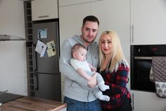 Stacey Turner, 31 from Bradford and Danny Firbank, 28 from finally ended their mission of finding their dream home at the end of last year so they could have their very own family home for 11 year old Paris and 3 month old Leo. Old Paris, Second Best, Bradford, Case Study, The Help, Leo, Home And Family, Couple Photos, People