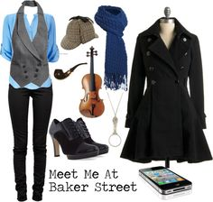 """""""Sherlock Holmes (BBC)"""" by favourite-fictional-fashions on Polyvore"""