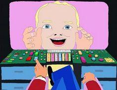 Pushwagner, I like it! Hare Krishna, Oslo, Aliens, Pop Art, Family Guy, Artist, Fictional Characters, Art Pop, Artists