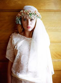 Feminine, Romantic and Elegant Wedding Veils With Enchanting Bridal Underpinnings | Love My Dress® UK Wedding Blog