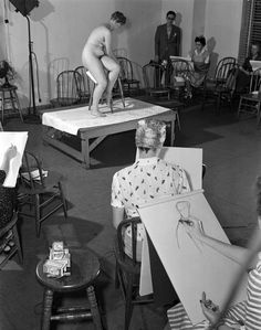 Will Women posing for art classes necessary