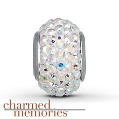 Charmed Memories® Swarovski Elements Charm Sterling Silver