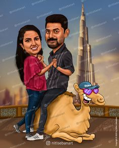 christian wedding caricature, Dubai caricature, Camel caricature, Dubai cartoon, camel cartoon, Custom Caricatures illustration from photos, Save the date, Indian caricature, Caricature Wedding Gifts, Caricature Invite, guests sign in board, India Wedding, Kerala wedding, nitisebanart Wedding Ceremony Ideas, India Wedding, Indian Wedding Cards, Funny Wedding Gifts, Wedding Humor, Save The Date, Wedding Caricature, Couple Illustration, Couple Cartoon