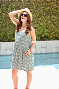 The Brunette One | My Style: Cut-Out Dress #Swell #TheBrunetteOne #ModelPose :)