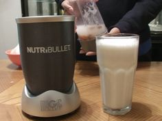Nutribullet Recipes - How to make Almond Milk