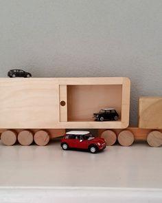 houten vrachtwagen 3