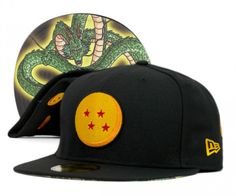New Era Dragonball #zshock #snapbacks | dragonball new era, collection,caps, snapback, son goku, shen long ...