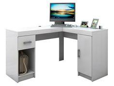 Mesa para Computador/Escrivaninha Barcelona 1 Porta 1 Gaveta - Politorno - Mesas Computador/Escrivaninha ‹ Magazine Luiza