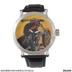 motorbike wrist watch