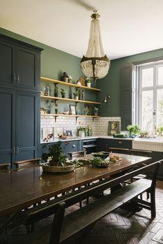 Devol Kitchens, Home Kitchens, Small Kitchens, Dream Kitchens, Colorful Kitchens, Remodeled Kitchens, Renovated Kitchen, Beautiful Kitchens, Beautiful Interiors