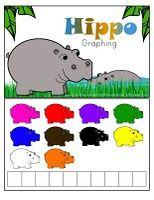 H is for Hippo - hippo color activity