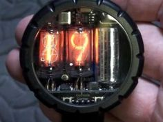 Nixie Watch Uses Vacuum Tubes to Tell Time