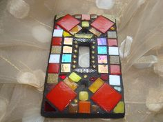 MOSAIC Light Switch Plate   Single Switch by victoriacharlotte, $18.00
