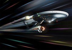 Star Trek Digital Art Glossy Print by SaganDigitalArt on Etsy