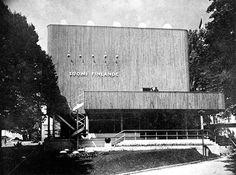 Pavilion at the Paris World Fair in 1937, designed by Alvar Aalto