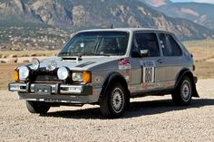 Bid for the chance to own a No Reserve: Rally-Prepped 1983 Volkswagen Rabbit at auction with Bring a Trailer, the home of the best vintage and classic cars online. Vw Rabbit Pickup, Car Volkswagen, Limited Slip Differential, Classic Cars Online, Rally, Prepping, Old Things, Vehicles, Motors