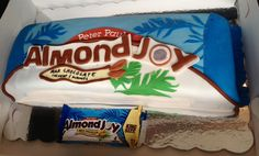 Very large Almond Joy birthday cake for a big fan. Funny thing is the cake itself was vanilla!