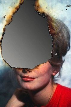 "artistiq-ue: ""Self-Portrait of You + Me (Catherine Deneuve), August 2007 — Douglas Gordon "" Distortion Photography, Portrait Photography, School Photography, Desing Inspiration, Art Inspo, Catherine Deneuve, Photomontage, Matthieu Bourel, Douglas Gordon"