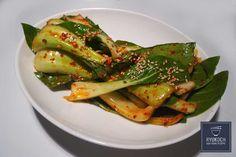► Leckeres koreanisches Rezept Pak Choi Salat koreanische Beilage zum nachkochen ✪ in 12 Minuten ✪ Zutaten: Fisch Sauce , Gochugaru (koreanisches Chilipulver), Knoblauchzehe, Pak Choi, Sesam, Sesamöl