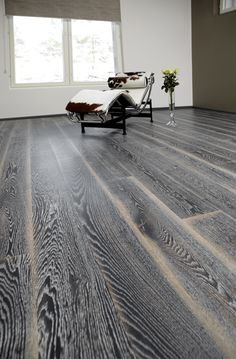 Karelia Oak Stonewashed Black Fade | Silverwood Flooring | Toronto