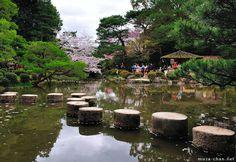Garyu-kyo, Japanese garden