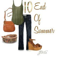 End of Summer, created by cinnamonbabka41 on Polyvore by lacedxsugarpillxoxo