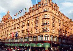 Harrods Department Store London