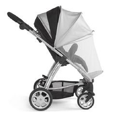 Keep bugs away from baby on stroll through the park with Mamas & Papas Sun Canopy & Insect Net! #BRUSpring