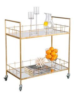 Carrie Bar Cart by Statements by J at Gilt
